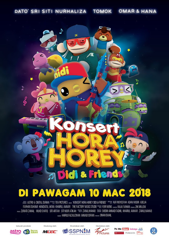 10 MAC 2018  - KONSERT HORA HOREY DIDI AND FRIENDS (MALAY)