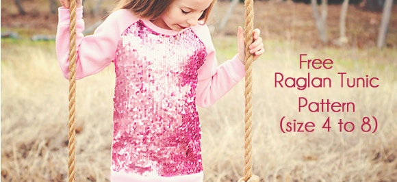 Raglan Tunic Tutorial and Pattern