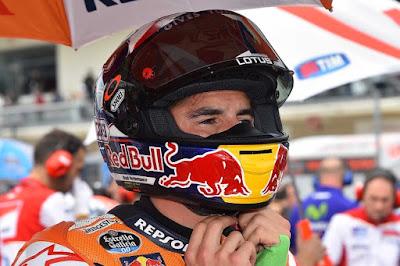 Sejak Kapan Ada Semut di Helm Marquez?