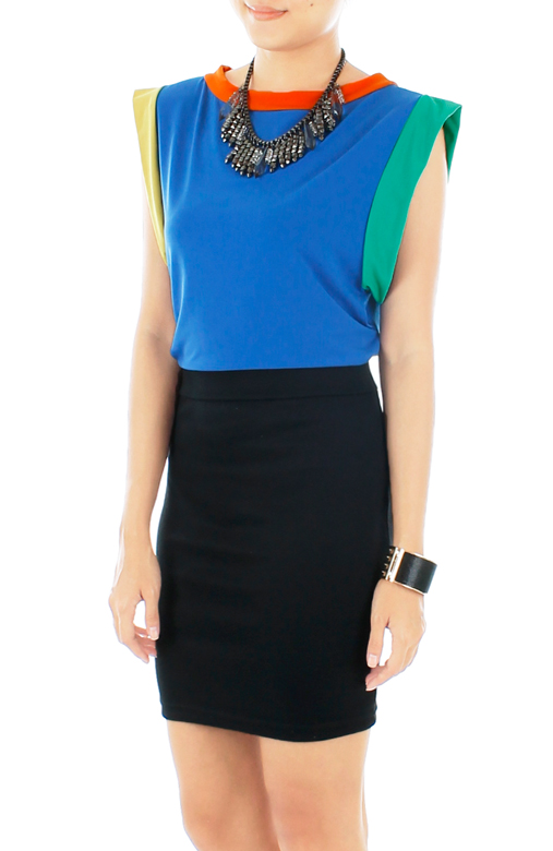 Rainbow Multicolour Blouse