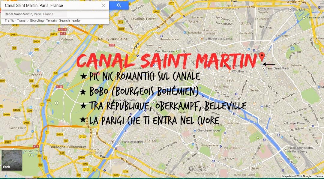 Canal Saint Martin - Parigi