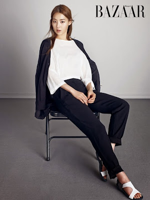 Han Ji Hye - Harper's Bazaar Magazine April Issue 2015