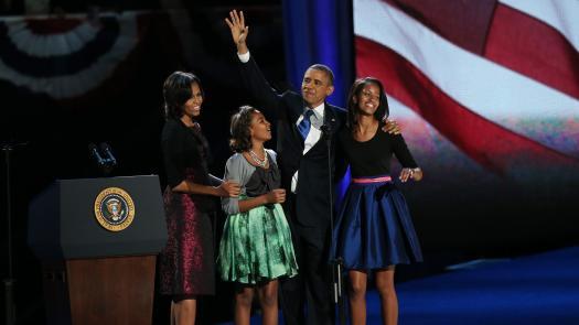 Barack Obama réélu président des Etats-Unis