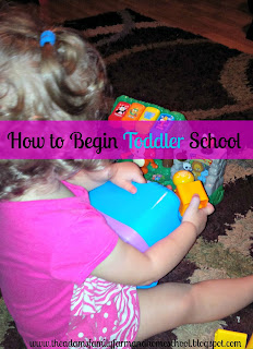 Beginning Toddler School