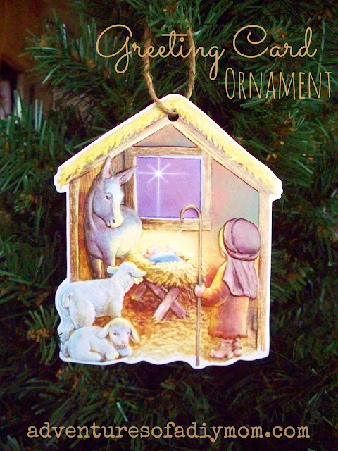 Greeting Card Ornament