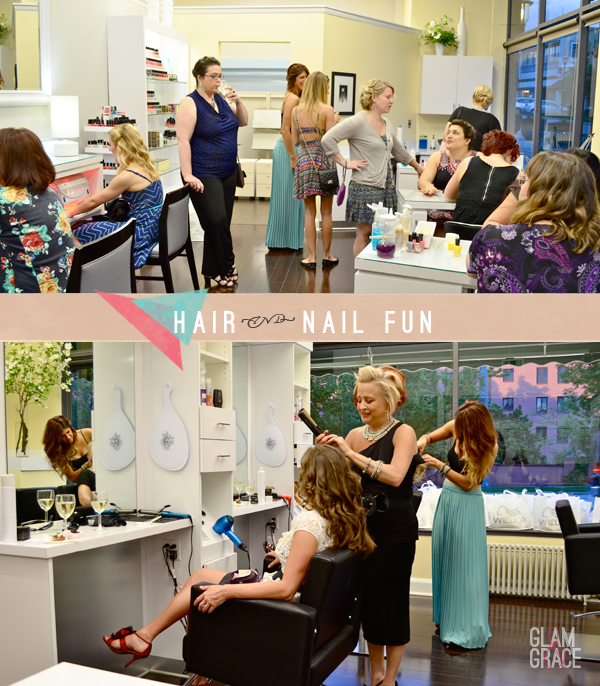 ELLE Magazine - Wella Professionals Event in Cleveland