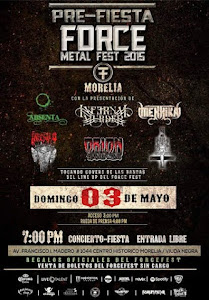FORCE METAL FEST 3/5/2015