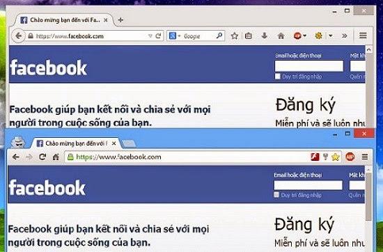 Đăng nhập 2 hay nhiều tài khoản Facebook