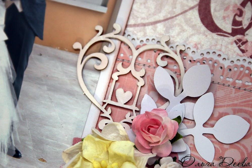 Wedding scrapbooking layout / Свадебная скрап страничка