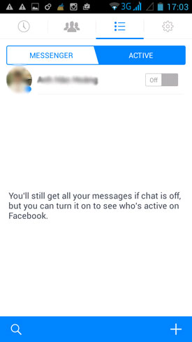 ẩn nick Facebook Messenger Android 4