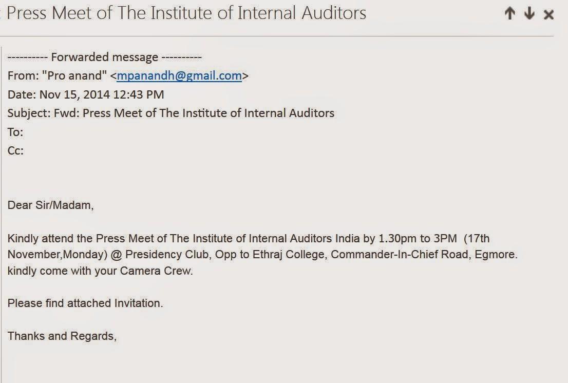 institute of internal auditors handbook