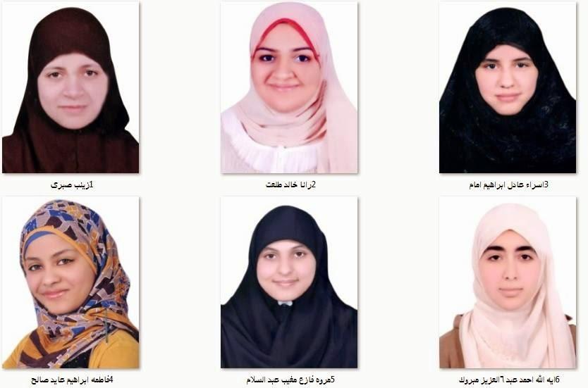 بالصور والأسماء أوائل الثانوية الأزهرية - القسم الأدبي