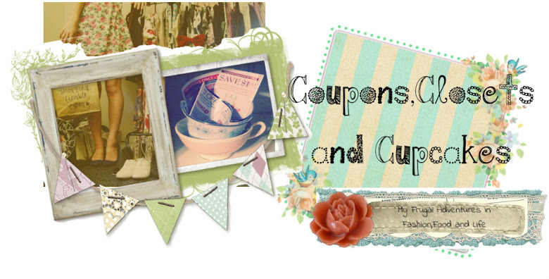 Coupons,Closets and Cupcakes
