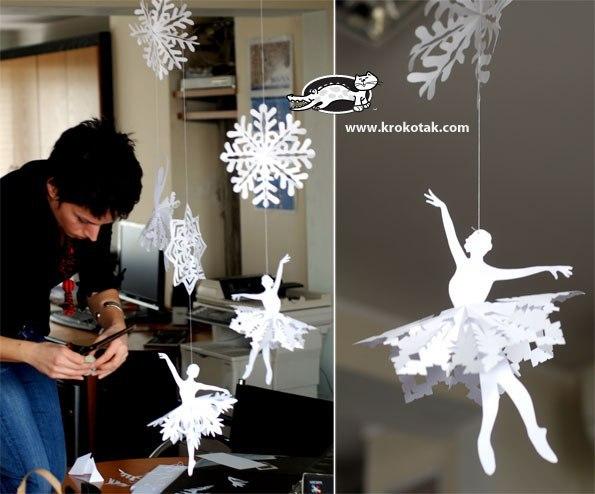 Аксессуары для костюма снежинки своими руками