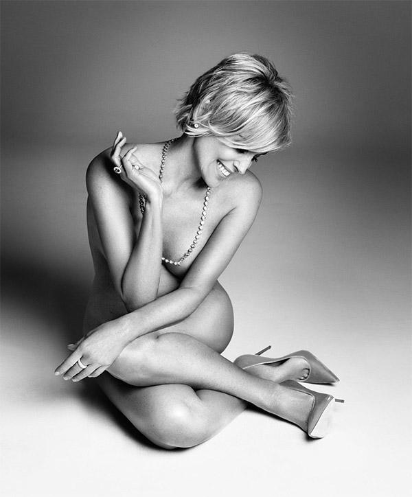 Sharon Stone Harper´s Bazaar
