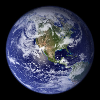 Yes, it's a picture of the planet Earth. Big deal.