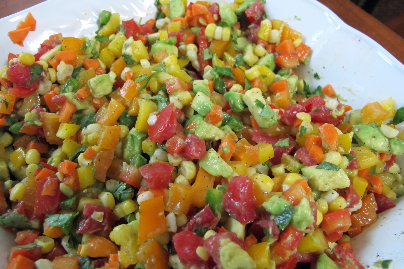 JustGrand Summer Vegetable Garden Salsa
