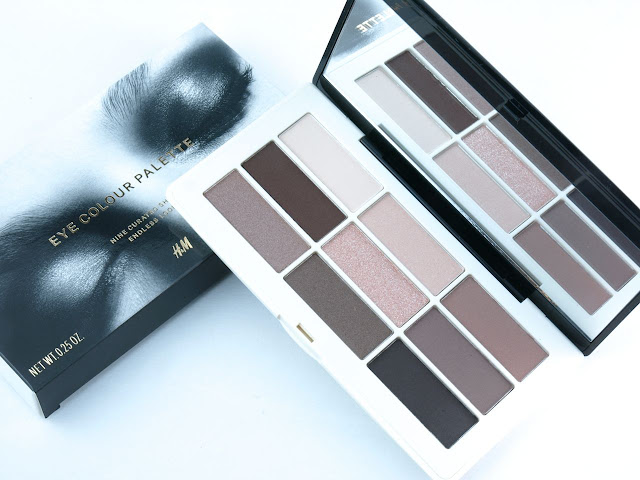 H&M Smoky Nudes Eyeshadow Palette: Review and Swatches