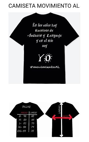 Camiseta #MovimientoAL