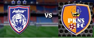 Friendly JDT Vs PKNS FC 22-12-2014