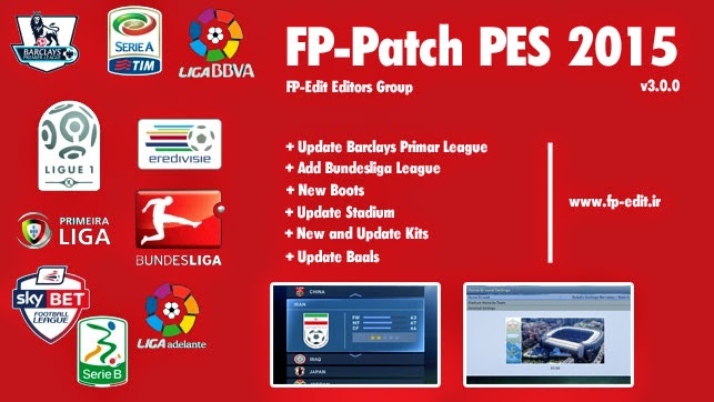 FP-Patch PES 2015 All in One 3.0.0 By FP-Edit