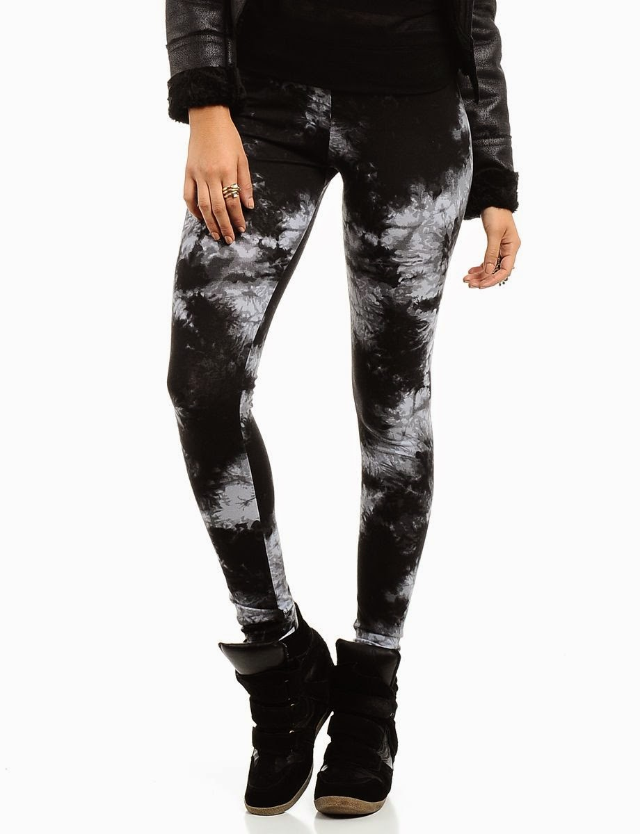 Attractive Tie Dye Leggings | Fashionate Trends