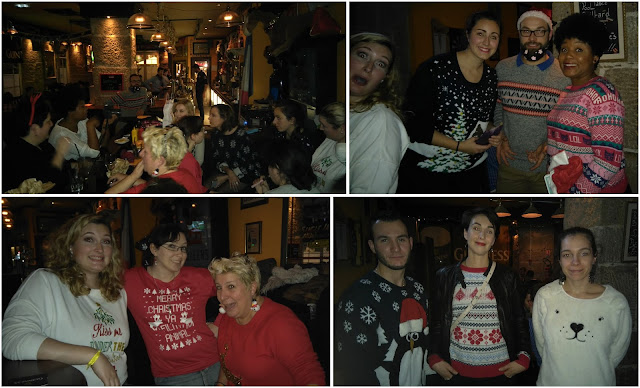 gigg's irish pub, nantes, christmas jumper day, bullelodie