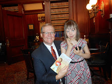 Chloe meets PA Speaker of the House Samuel Smith