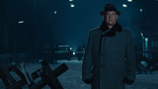 "Tom Hanks stars as a lawyer over his head in Steven Spielberg's ""Bridge of Spies"""