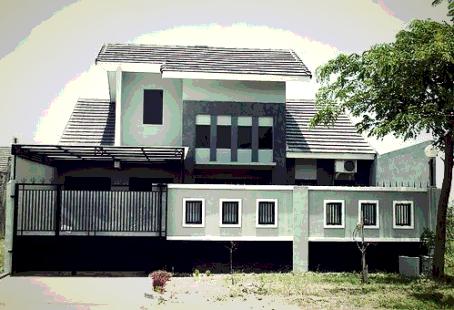 gambar desain pagar rumah minimalis modern terbaru