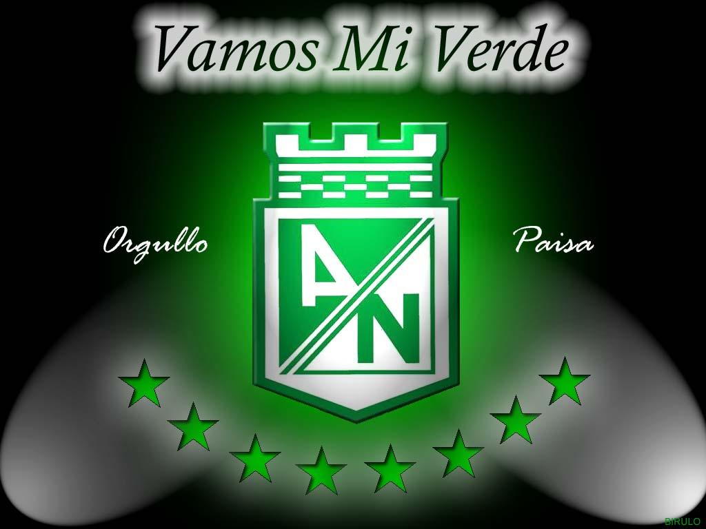 Escudo oficial club atletico nacional