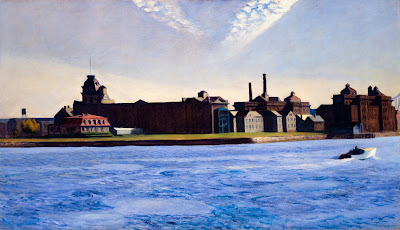 Edward Hopper - Blackwell's Island,1928