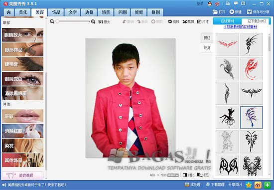 Xiu Xiu Meitu 3.8.1 Photo Editor 3