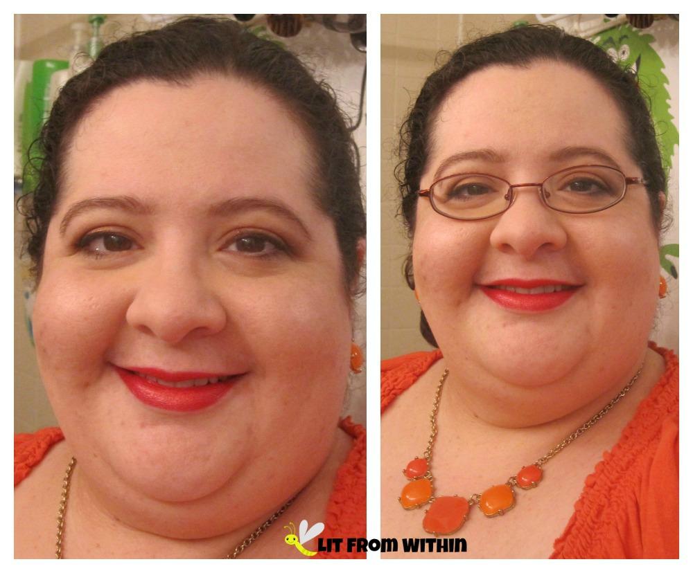 FOTD with Borghese Escape lipstick
