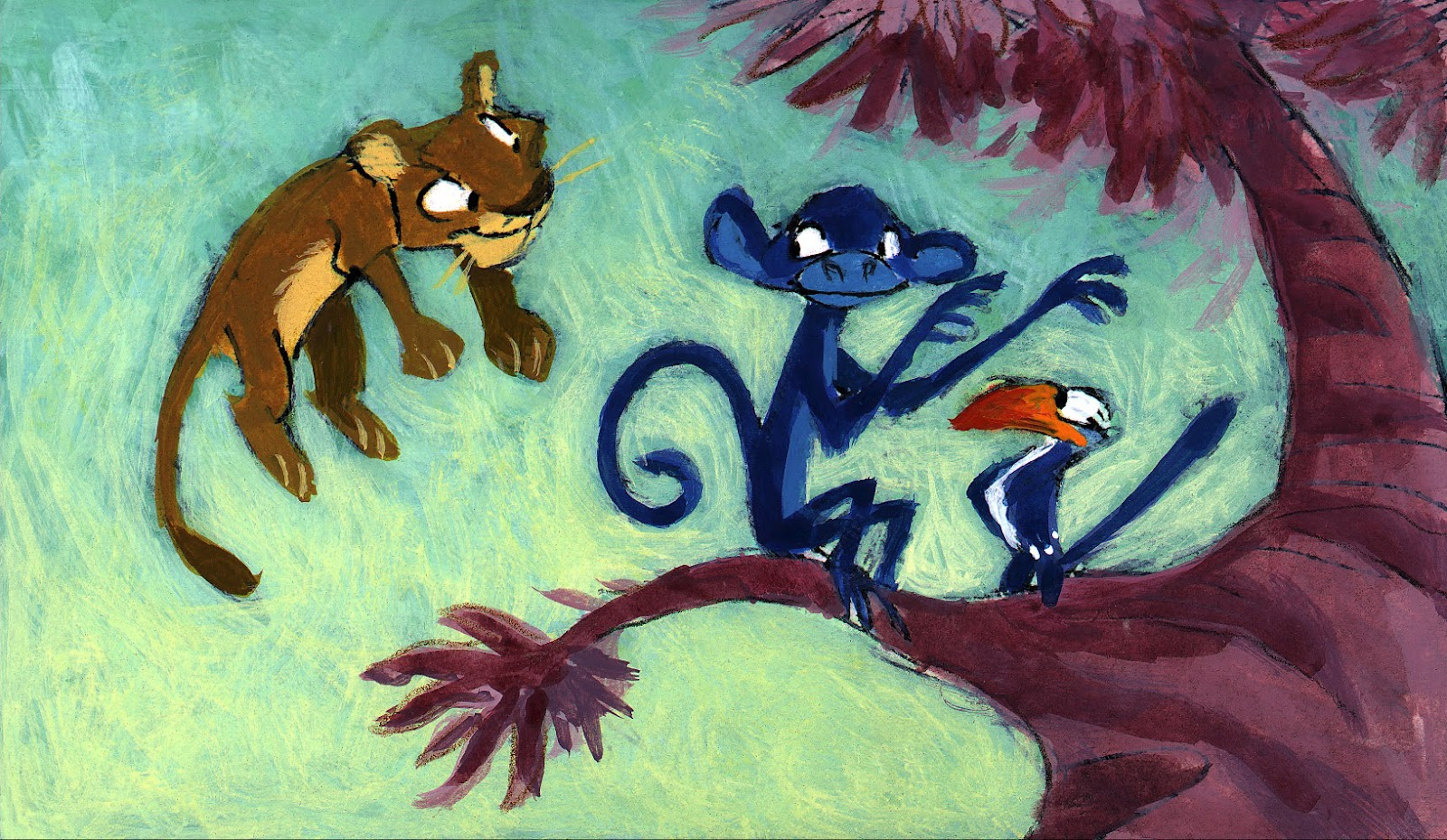 Character Design Lion King : Living lines library the lion king color keys