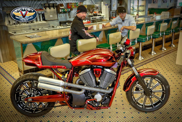 victory-ness-cafe - victory+motorcycle+cafe+racer- This is where the latest creation from Zach Ness, the Victory Ness Cafe comes in.The Victory Ness Cafe is explained in detail in the video below,
