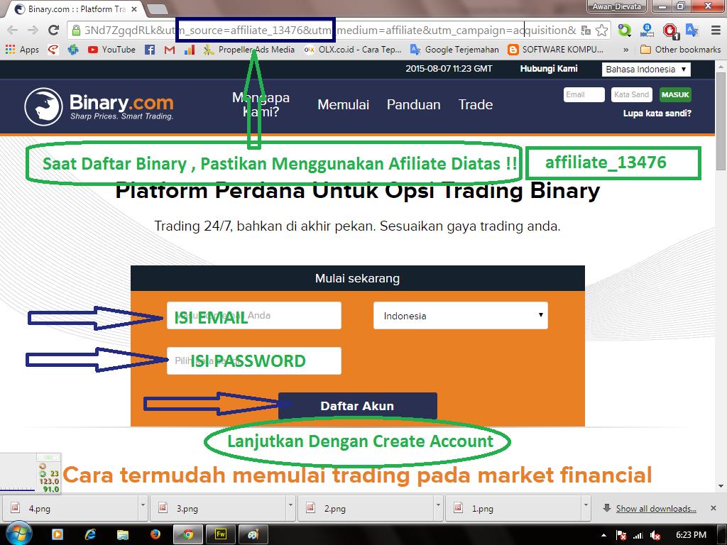 Binary trading virtual account jamsostek