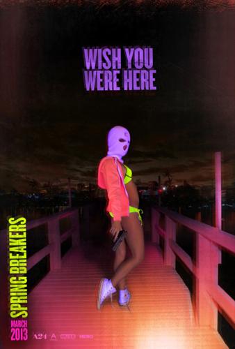 Spring Breakers teaser poster