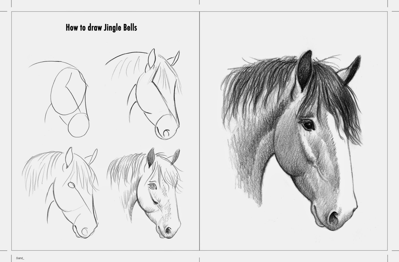 I Have Always Wanted To Do A Howtodrawhorses Book Here Is The Closest I  Havee So How To Draw A Horse Spoken Tutorial