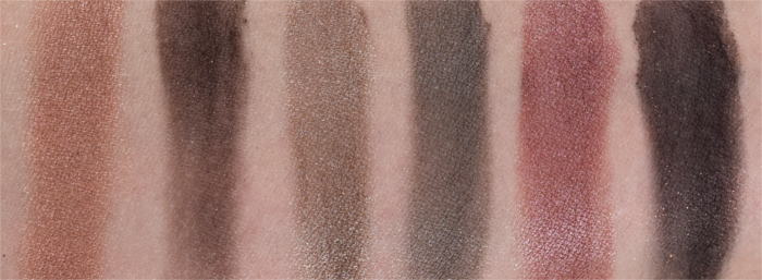 Maybelline The Blushed Nudes Palette Swatches