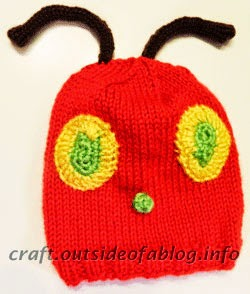 Knit Baby Hat | Very Hungry Caterpillar | Baby Shower Gift