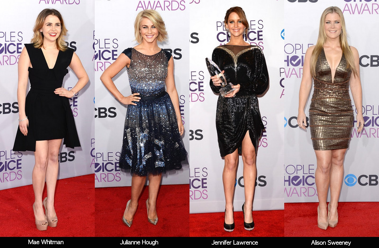 Awards Season Kicked Off Last Night With The People's Choice Awards