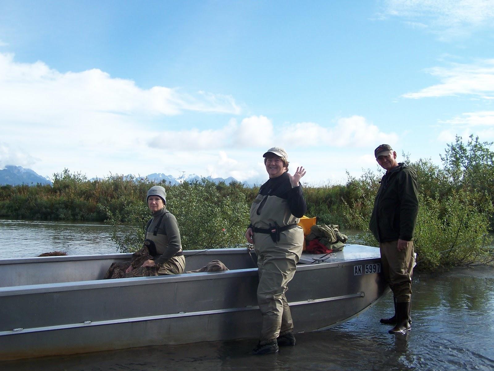 Salmon fishing in alaska for Sally t fishing