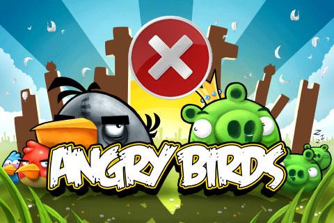 solve problem angry birds PC error