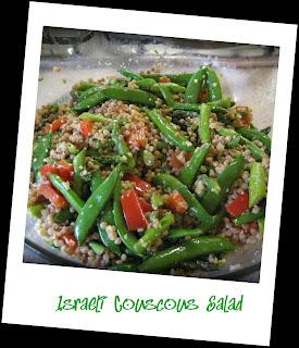 Recipe: Israeli couscous salad