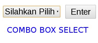 combo box select