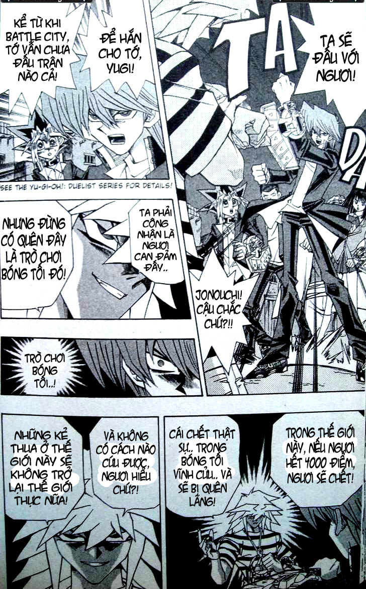 YuGi Oh – Vua Trò Chơi chap 307 Trang 9
