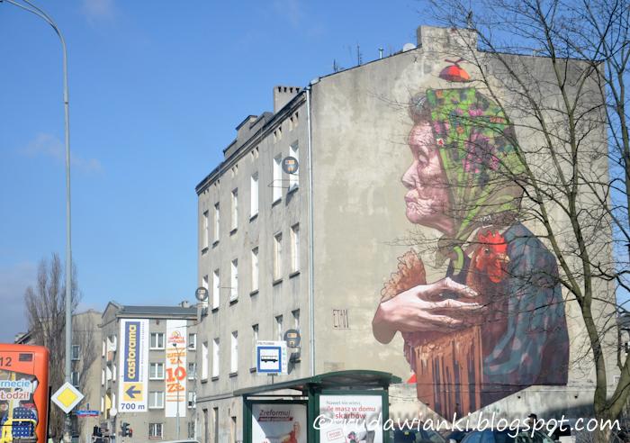 Łódzkie murale.