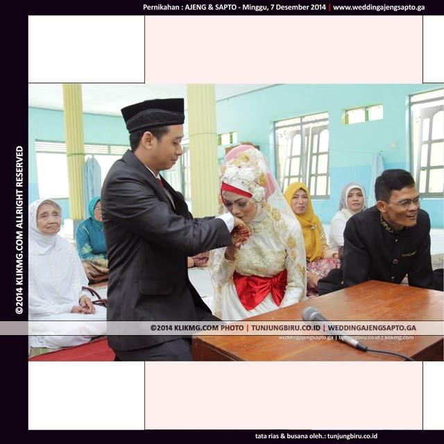 Split Foto & DOPA + Music Backsound - Akad Nikah : Ajeng & Sapto 07.12.2014 - Tata Rias & Busana oleh : TUNJUNGBIRU.CO.ID Rias Pengantin Purwokerto - Foto oleh : KLIKMG Foto & Video