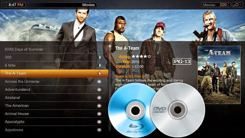 Stream Blu-ray and DVD movies to Plex Media Server